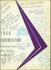 Page 7, 1958 Edition, Mesa High School - Superstition Yearbook (Mesa, AZ) online yearbook collection