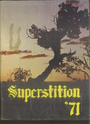1971 Edition, Mesa High School - Superstition Yearbook (Mesa, AZ)