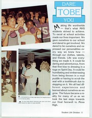 Page 15, 1986 Edition, Mesa High School - Superstition Yearbook (Mesa, AZ) online yearbook collection