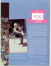 Page 9, 1986 Edition, Mesa High School - Superstition Yearbook (Mesa, AZ) online yearbook collection