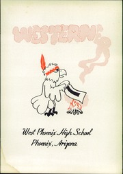 Page 5, 1950 Edition, West Phoenix High School - Westerner Yearbook (Phoenix, AZ) online yearbook collection