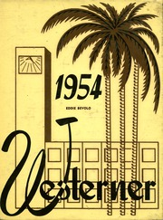 1954 Edition, West Phoenix High School - Westerner Yearbook (Phoenix, AZ)