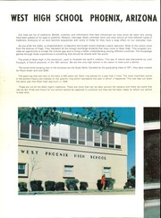 Page 6, 1972 Edition, West Phoenix High School - Westerner Yearbook (Phoenix, AZ) online yearbook collection