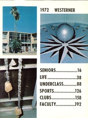 Page 7, 1972 Edition, West Phoenix High School - Westerner Yearbook (Phoenix, AZ) online yearbook collection