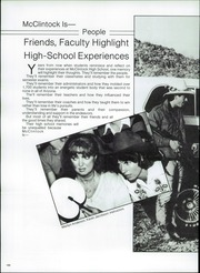 Page 190, 1983 Edition, McClintock High School - Historian Yearbook (Tempe, AZ) online yearbook collection