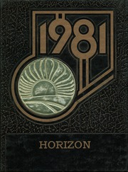 Tempe High School - Horizon Yearbook (Tempe, AZ) online yearbook collection, 1981 Edition, Page 1