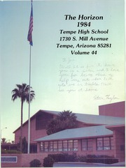 Page 1, 1984 Edition, Tempe High School - Horizon Yearbook (Tempe, AZ) online yearbook collection