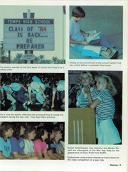 Page 11, 1984 Edition, Tempe High School - Horizon Yearbook (Tempe, AZ) online yearbook collection