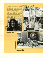 Page 8, 1978 Edition, Chaparral High School - Golden Embers Yearbook (Scottsdale, AZ) online yearbook collection