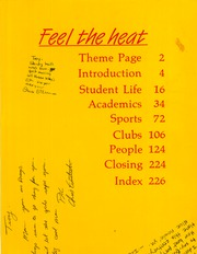 Page 3, 1986 Edition, Chaparral High School - Golden Embers Yearbook (Scottsdale, AZ) online yearbook collection