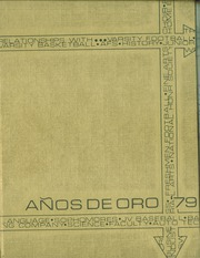 1979 Edition, Canyon Del Oro High School - Anos De Oro Yearbook (Tucson, AZ)