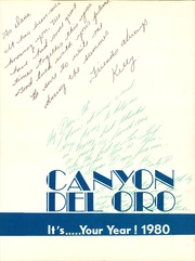 Page 3, 1980 Edition, Canyon Del Oro High School - Anos De Oro Yearbook (Tucson, AZ) online yearbook collection