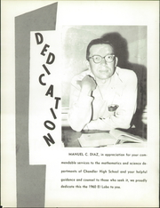 Page 6, 1960 Edition, Chandler High School - El Lobo Yearbook (Chandler, AZ) online yearbook collection