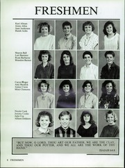 Page 12, 1987 Edition, Valley Christian High School - Footprints Yearbook (Tempe, AZ) online yearbook collection