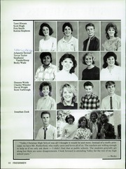 Page 14, 1987 Edition, Valley Christian High School - Footprints Yearbook (Tempe, AZ) online yearbook collection