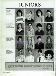 Page 18, 1987 Edition, Valley Christian High School - Footprints Yearbook (Tempe, AZ) online yearbook collection