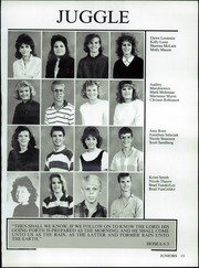 Page 19, 1987 Edition, Valley Christian High School - Footprints Yearbook (Tempe, AZ) online yearbook collection