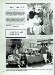 Page 32, 1987 Edition, Valley Christian High School - Footprints Yearbook (Tempe, AZ) online yearbook collection