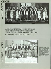 Valley Christian High School - Footprints Yearbook (Tempe, AZ) online yearbook collection, 1987 Edition, Page 34