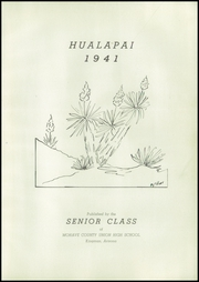 Page 7, 1941 Edition, Kingman High School - Hualapai Yearbook (Kingman, AZ) online yearbook collection