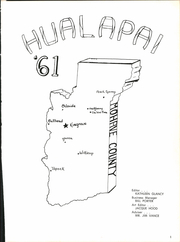 Page 5, 1961 Edition, Kingman High School - Hualapai Yearbook (Kingman, AZ) online yearbook collection
