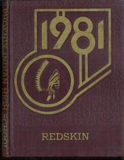 1981 Edition, Phoenix Indian High School - Redskin Yearbook (Phoenix, AZ)