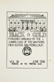 Page 7, 1928 Edition, San Pedro High School - Black and Gold Yearbook (San Pedro, CA) online yearbook collection