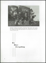 Page 8, 1955 Edition, San Pedro High School - Black and Gold Yearbook (San Pedro, CA) online yearbook collection