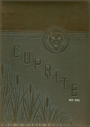 1955 Edition, Bisbee High School - Cuprite Yearbook (Bisbee, AZ)