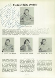 Page 11, 1957 Edition, Bisbee High School - Cuprite Yearbook (Bisbee, AZ) online yearbook collection