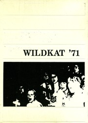 1971 Edition, Duncan High School - Wildkat Yearbook (Duncan, AZ)