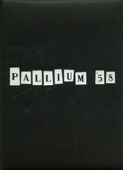 1958 Edition, Bishop Conaty Memorial High School - Pallium Yearbook (Los Angeles, CA)