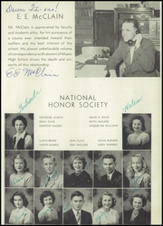 Page 15, 1945 Edition, Miami High School - Concentrator Yearbook (Miami, AZ) online yearbook collection