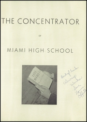 Page 5, 1945 Edition, Miami High School - Concentrator Yearbook (Miami, AZ) online yearbook collection