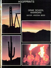 Page 5, 1982 Edition, Orme School - Hoofprints Yearbook (Mayer, AZ) online yearbook collection