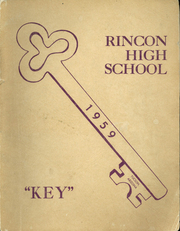 1959 Edition, Rincon High School - Rawhide Yearbook (Tucson, AZ)