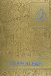1956 Edition, San Manuel High School - Copperleaf Yearbook (San Manuel, AZ)