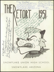 Page 7, 1951 Edition, Snowflake High School - Retort Yearbook (Snowflake, AZ) online yearbook collection