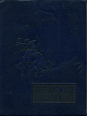 1941 Edition, Willcox High School - Round Up Yearbook (Willcox, AZ)