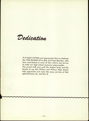 Page 7, 1956 Edition, Willcox High School - Round Up Yearbook (Willcox, AZ) online yearbook collection