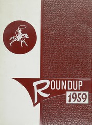1959 Edition, Willcox High School - Round Up Yearbook (Willcox, AZ)