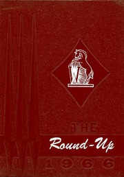 1966 Edition, Willcox High School - Round Up Yearbook (Willcox, AZ)