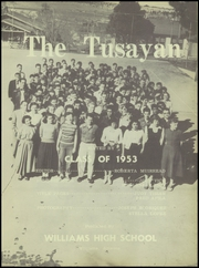 Page 5, 1953 Edition, Williams High School - Tusayan Yearbook (Williams, AZ) online yearbook collection