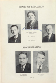 Page 10, 1939 Edition, Winslow High School - Meteor Yearbook (Winslow, AZ) online yearbook collection