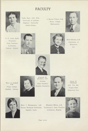 Page 11, 1939 Edition, Winslow High School - Meteor Yearbook (Winslow, AZ) online yearbook collection