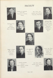Page 12, 1939 Edition, Winslow High School - Meteor Yearbook (Winslow, AZ) online yearbook collection