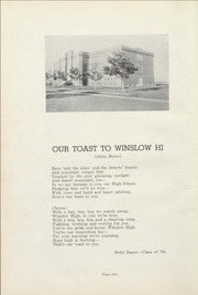 Page 6, 1939 Edition, Winslow High School - Meteor Yearbook (Winslow, AZ) online yearbook collection