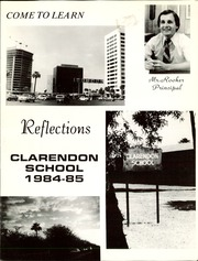 Page 3, 1985 Edition, Clarendon Middle School - Reflections Yearbook (Phoenix, AZ) online yearbook collection