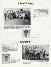 Clarendon Middle School - Reflections Yearbook (Phoenix, AZ) online yearbook collection, 1986 Edition, Page 42