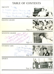 Page 6, 1988 Edition, Desert Shadows Middle School - Oasis Yearbook (Scottsdale, AZ) online yearbook collection